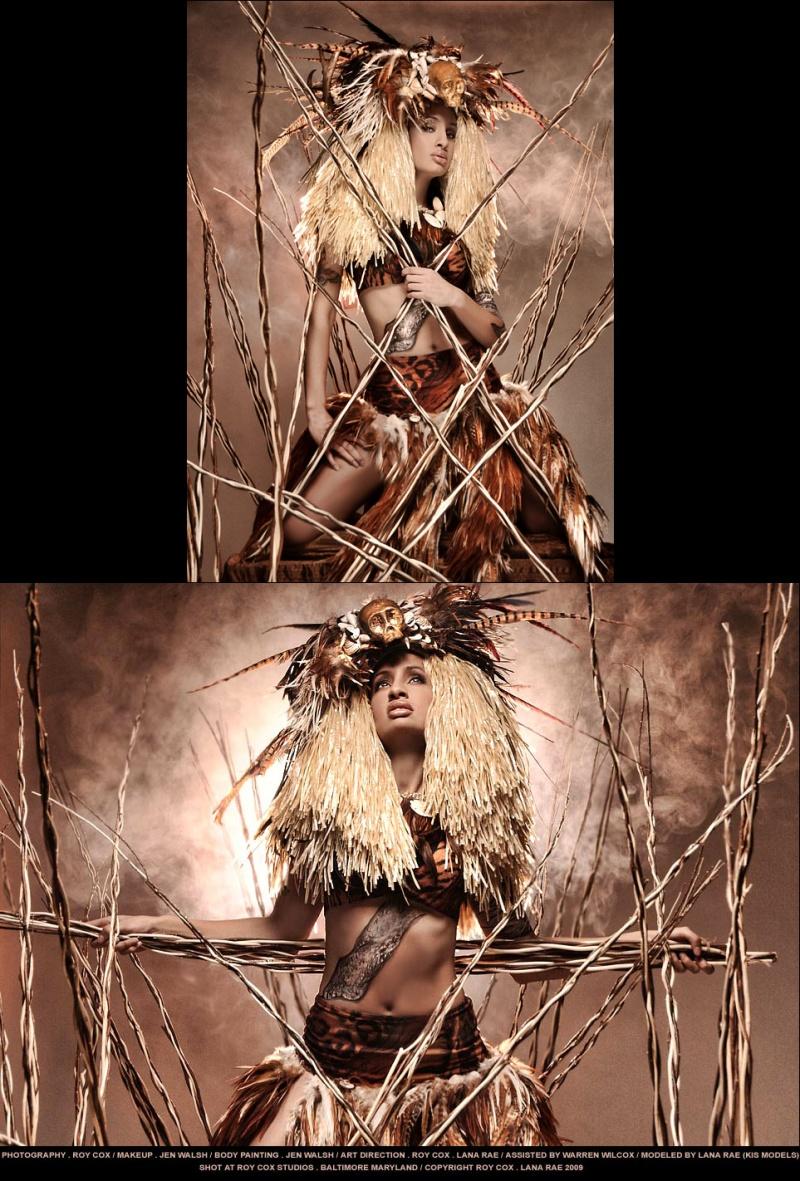 Roy Cox Studios - Baltimore Maryland Feb 23, 2009 Roy Cox - Lana Rae 2009 lana rae promo layout - kis models - jen walsh body paint