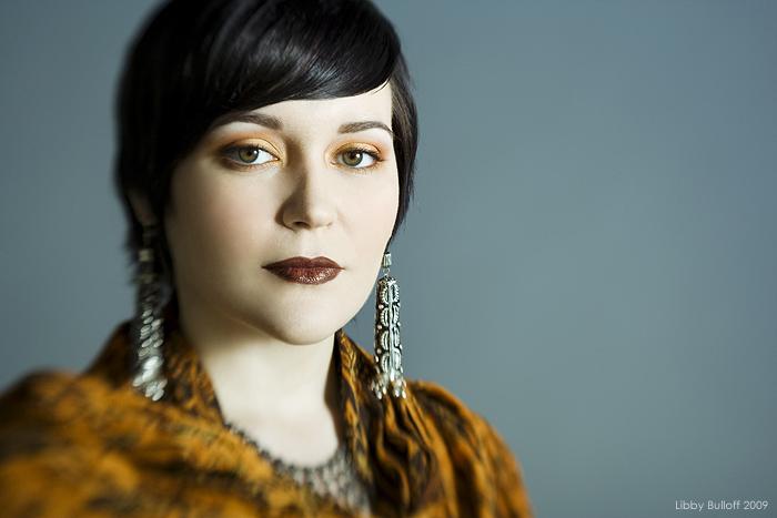 Female model photo shoot of Libby Bulloff and Revulvar in Starfish Studios, Seattle, WA