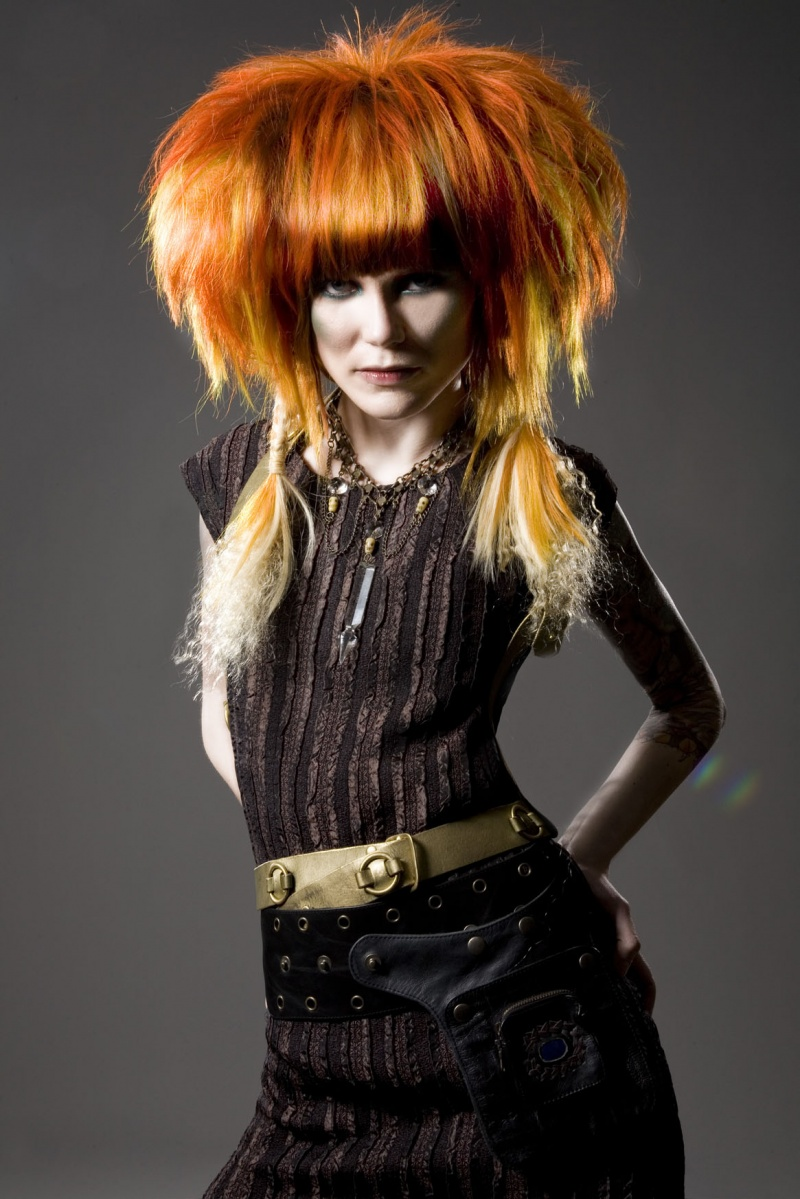 Hair : Make-up by Emily Hunt : Styling by Robyn Stark Feb 26, 2009 Maria Laxamana + Martha Galvan Virgina (HELLOPONY)