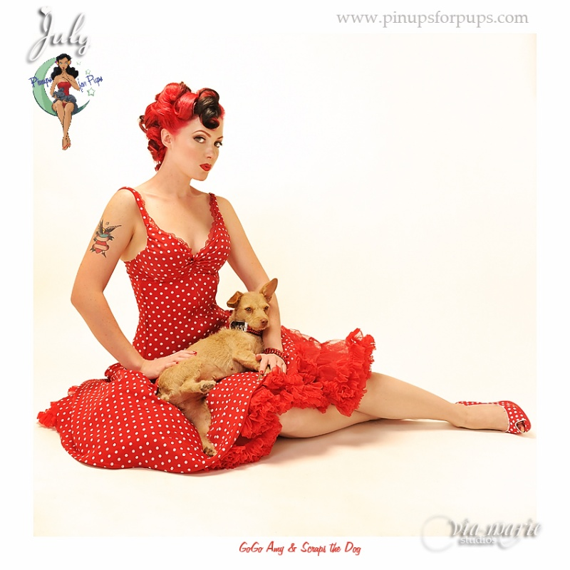Female model photo shoot of go-go Amy