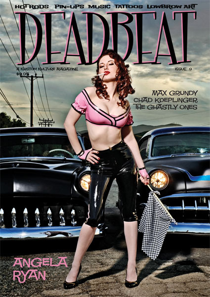 Mar 01, 2009 2009 Deadbeat Magazine ANGELA RYAN for DEADBEAT magazine