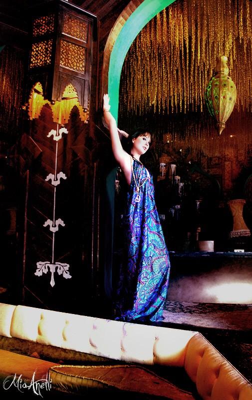 Female model photo shoot of Mia AnelliPhotographyLA in Goa Bar Hollywood,CA