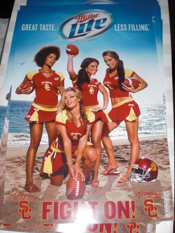 Mar 03, 2009 Miller Lite USC Poster