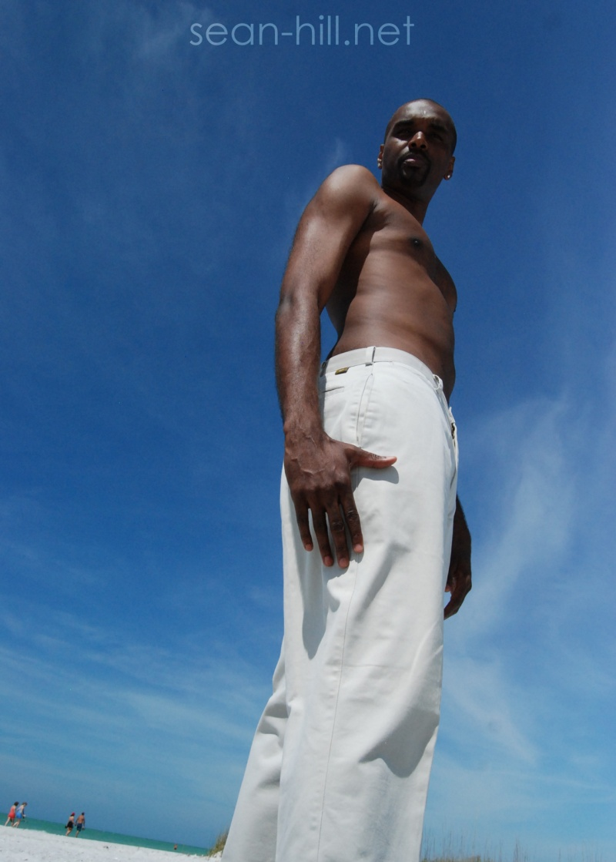 Male model photo shoot of Sean Hill aka Papasean in Ft. De Soto Beach, FL