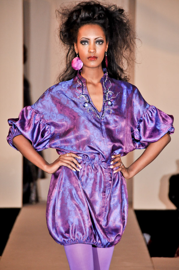 French Embassy Mar 04, 2009 Dc fashion week Purpel looks good on me eventho its not my  fav color