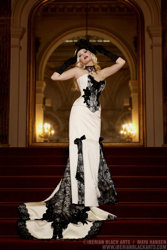 Casino of Madrid Mar 05, 2009 Iberian Black Arts Maya Hansen Bridal Couture