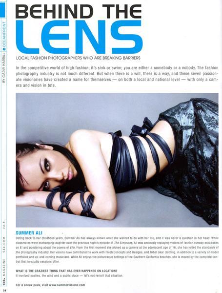 San Diego, CA Mar 05, 2009 Summer Visions 944 Magazine