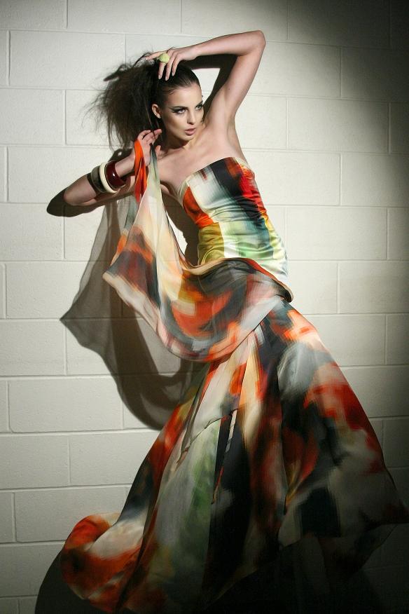 Oakville Mar 06, 2009 canan hosseyni Model: Vlada, MUA: Saida, Stylist: Youlanda, Dress: Lucian Matis