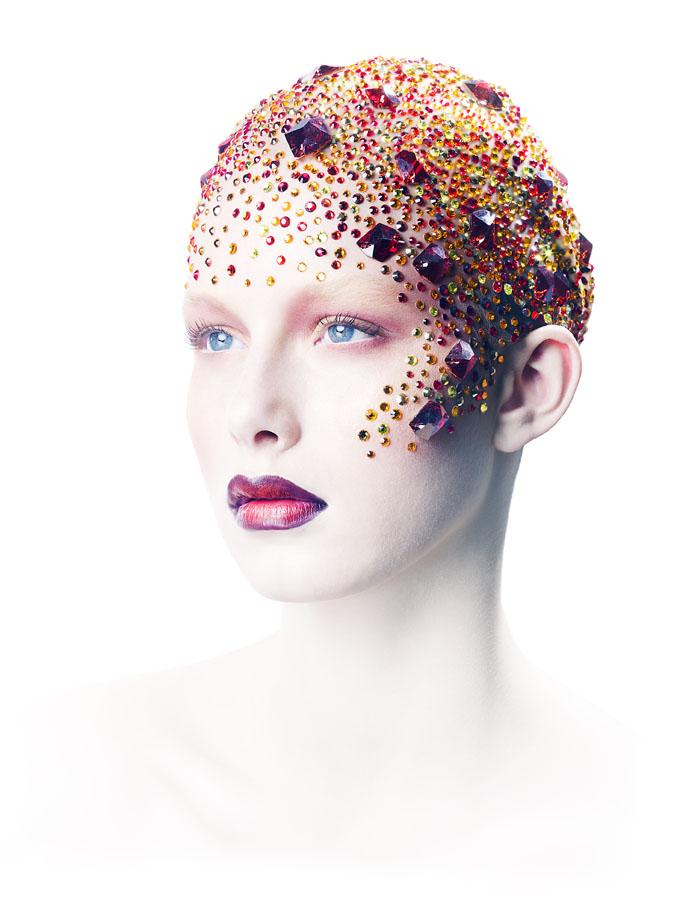 London/UK/ makeup Margo Holder Mar 06, 2009 Gregory Michael King Lesley