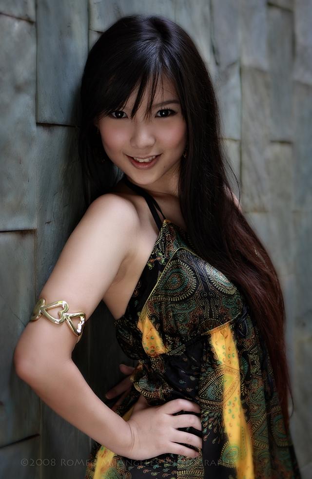 Female model photo shoot of Michelle Qiu in Singapore