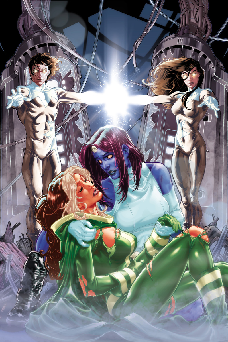 Mar 07, 2009 Marvel Comics and Mark Brooks X-Men annual #1 cover