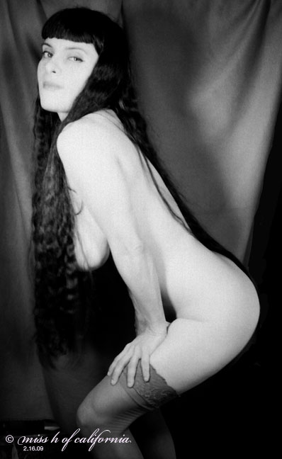 Southern California Mar 07, 2009 miss h of california 1920s erotica (self-portrait)