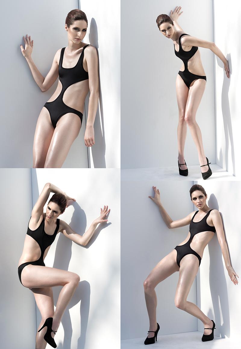 Female model photo shoot of Stephanie Simpson by K E S L E R in Los Angeles, CA, makeup by PRETTY PUBLIC AFFAIR