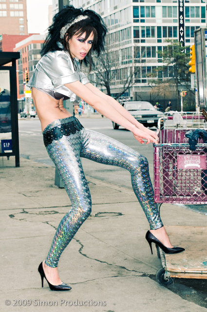 Mar 08, 2009 Make up and Hair by Vesta Dirty Addiction Hologram Leggings