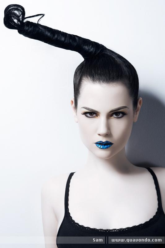 Make up by Christie Caiola: Hair by Ayame Mar 08, 2009 Quavondo Hair Raiser