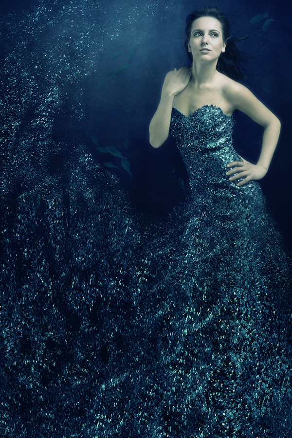 Studio, Hamburg, Germany Mar 08, 2009 Michael Schroeder MSF Dress Of Bubbles - Model: Lakritze /  Picture of the Day� win for Friday, April 10.