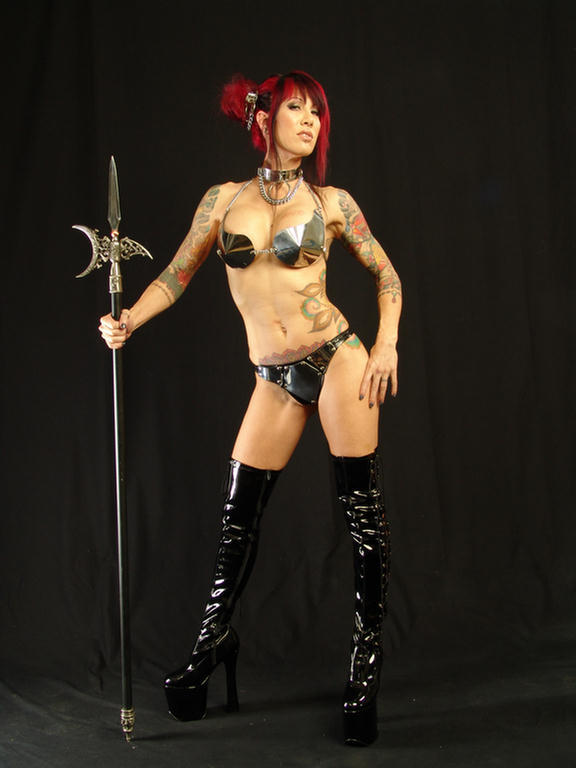 Studio... MUA Alexia Mar 08, 2009 Katana...  Warrior...