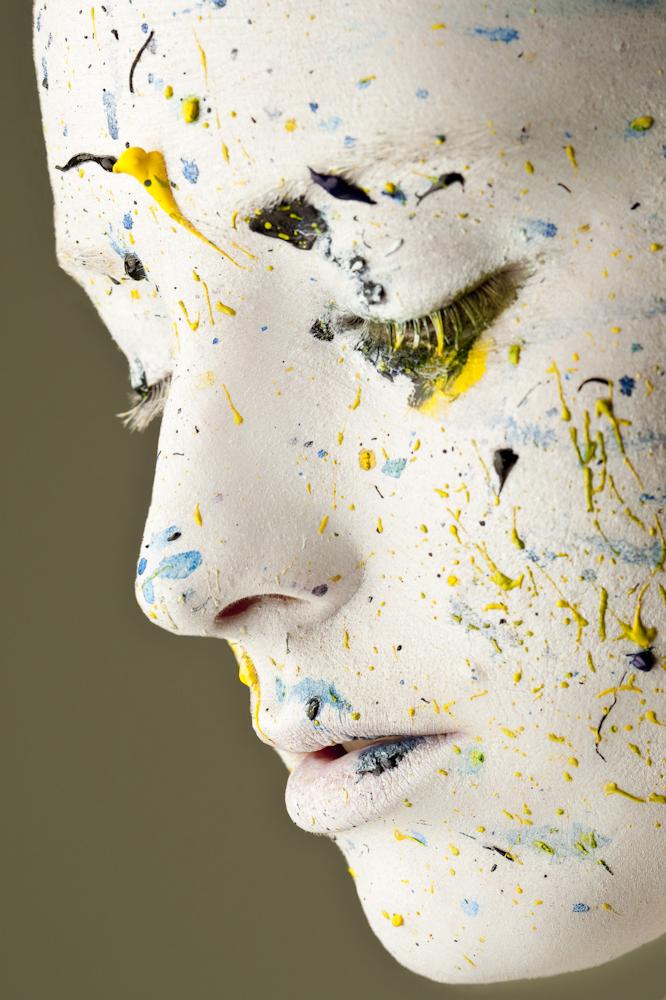 London Mar 10, 2009 Sean Allott Paint Splatter