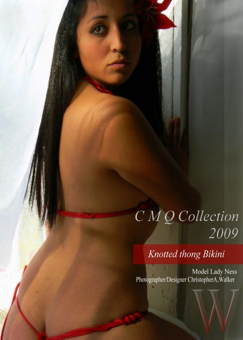 Studio,Pomona,Ca Mar 11, 2009 CAWDFINC New design Knotted  Bikini CMQ s/s