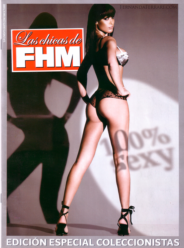 Mar 11, 2009 FHM SPAIN COVER