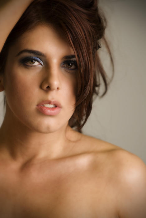 Female model photo shoot of Tammy Do and None2345678 by Neumann Images, makeup by Tammy Do