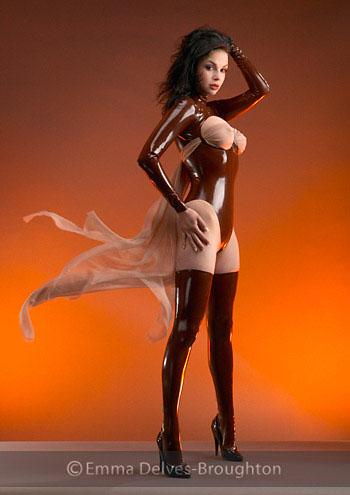 Mar 13, 2009 © Emma Delves-Broughton Model: Valeria   Clothes: Libidex