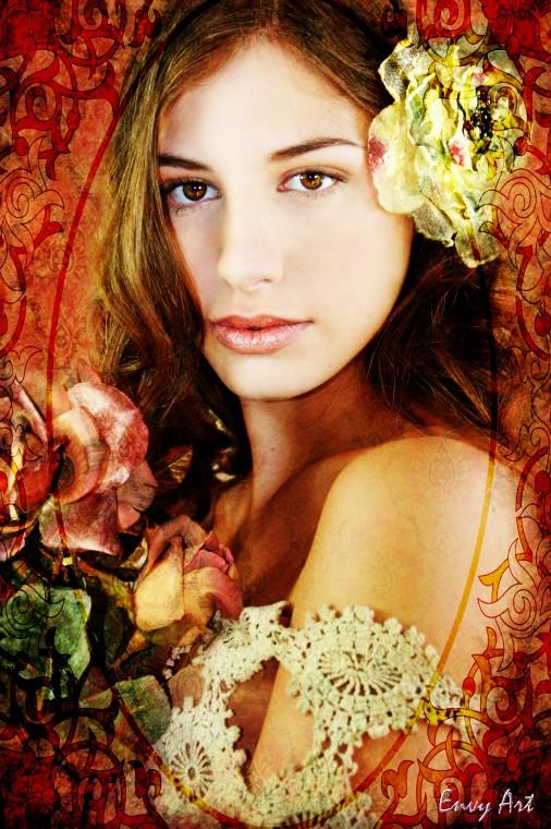 Mar 15, 2009 Envy Art Photography / Lisa Elizabeth - Model / Theresa McCoy - Hair & MUA