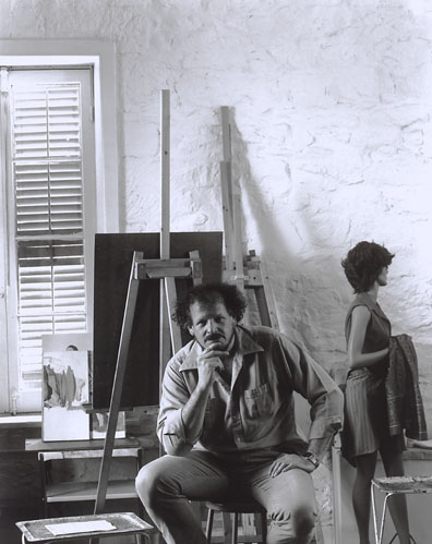 Mission Road Photography Studio, San Antonio, Texas. Mar 16, 2009 Arnold Newman Portrait of Tim Summa by Arnold Newman.