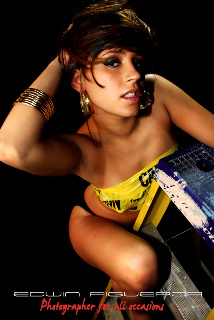 Female model photo shoot of Chris Vasquez in NR Studios