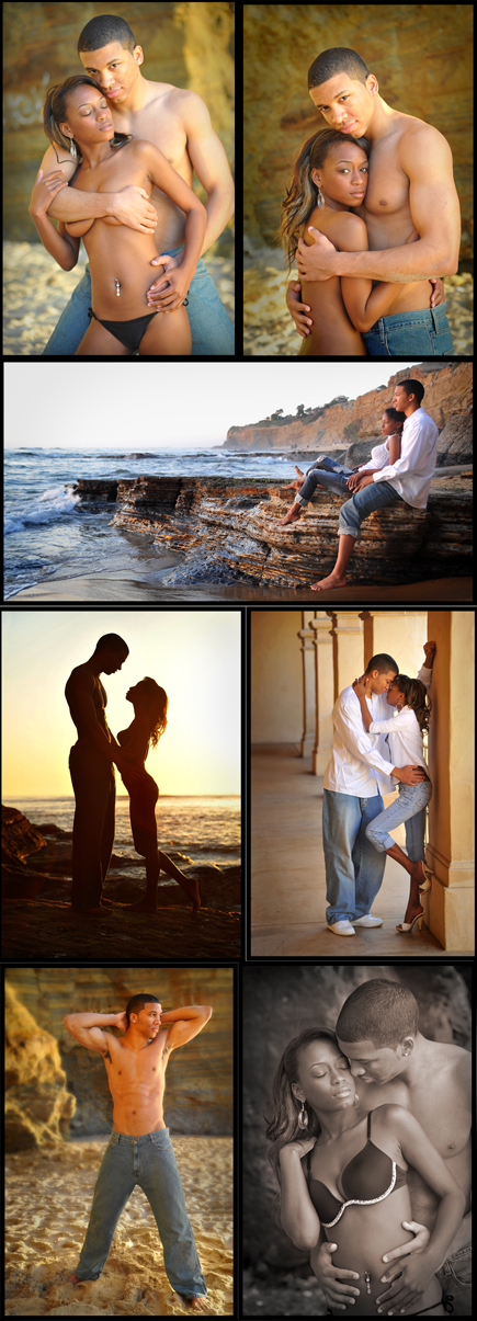 Male and Female model photo shoot of C2C Portraits, Mika McClain and MN Young in San Diego