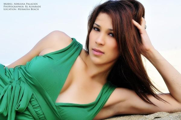 Female model photo shoot of Adriana Palacios by RJ Alvarade in Hermosa Beach