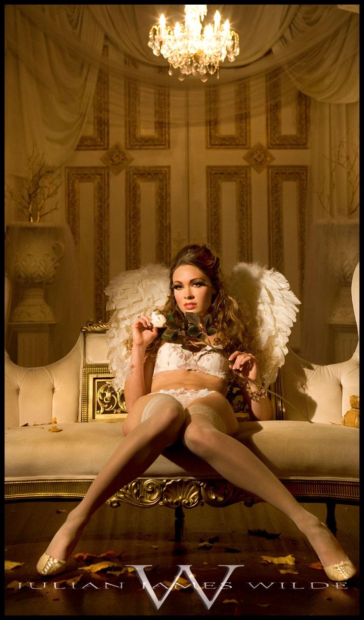 Female model photo shoot of sarah breece by Julian  W I L D E in Portland, OR, wardrobe styled by Raven Wilde, makeup by Junis