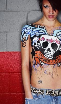 Mar 19, 2009 Guttermagazine.com Sk8 Girl Fever Runway show