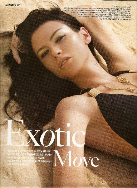 Puket, Thailand Mar 19, 2009 Beauty editorial
