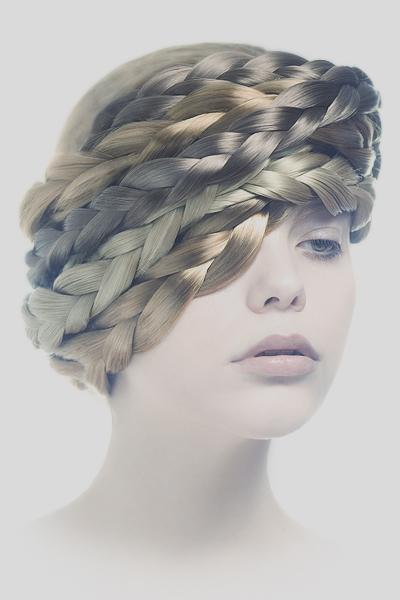 Milan Mar 20, 2009 Photography & retouching: Anna Lucylle - Model: Nana Vintage beauty