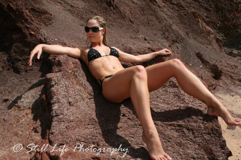 Female model photo shoot of Sophie Gospodarczyk in long reef beach
