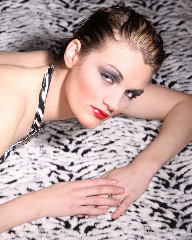Female model photo shoot of Margarite Lee Ann in Spokane, WA / Studio