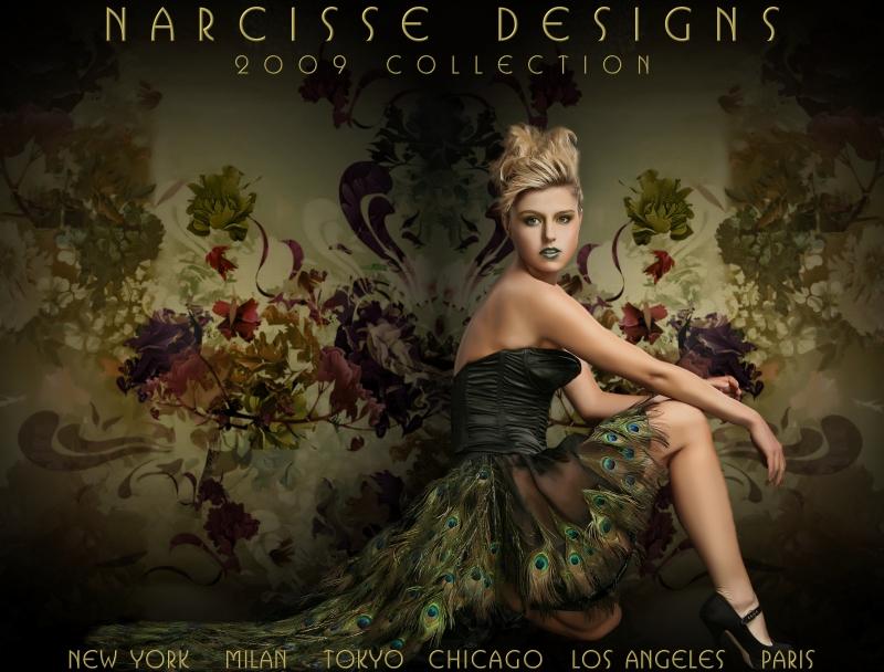 Model: Monika Tarnowski Mar 21, 2009 Narcisse Designs/Michael Rosen Narcisse Designs 2009 Collection