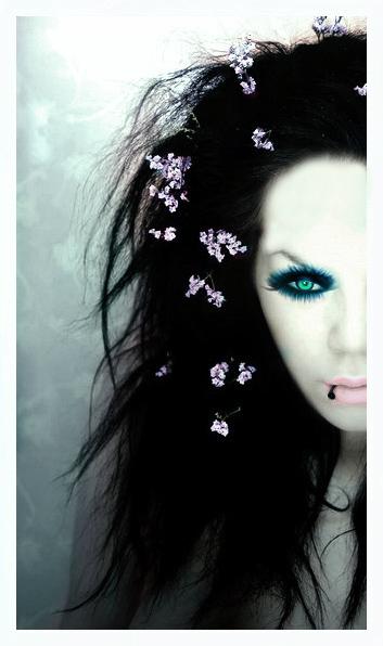 Mar 21, 2009 Photography: Shyble Skin, Background, Eye, Flower Change--Digital Makeup Added