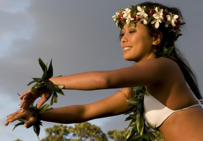 Kukio Beach Hawaii Mar 22, 2009 Shortini Hulu Girl