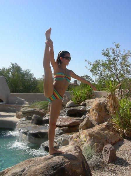 My Pool Mar 22, 2009 Yoga Time!