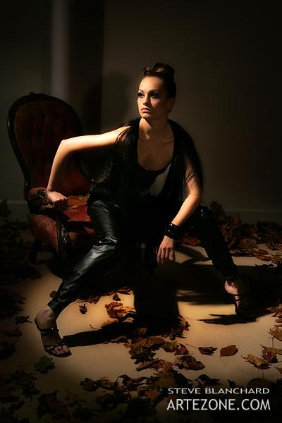Female model photo shoot of VAN DER HAER