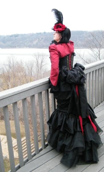Stillwater, MN Mar 23, 2009 Kaitlyn McClain Elegant Blood-Vampire victorian gothic