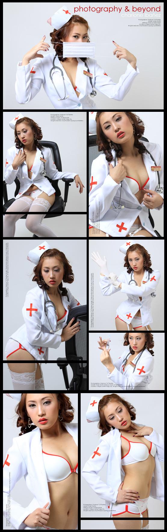 Mar 24, 2009 Charlone CK Ibañez Nurse Aki - Model: Chiaki Morita; MUA: Shaan of fashionstyle.multiply.com