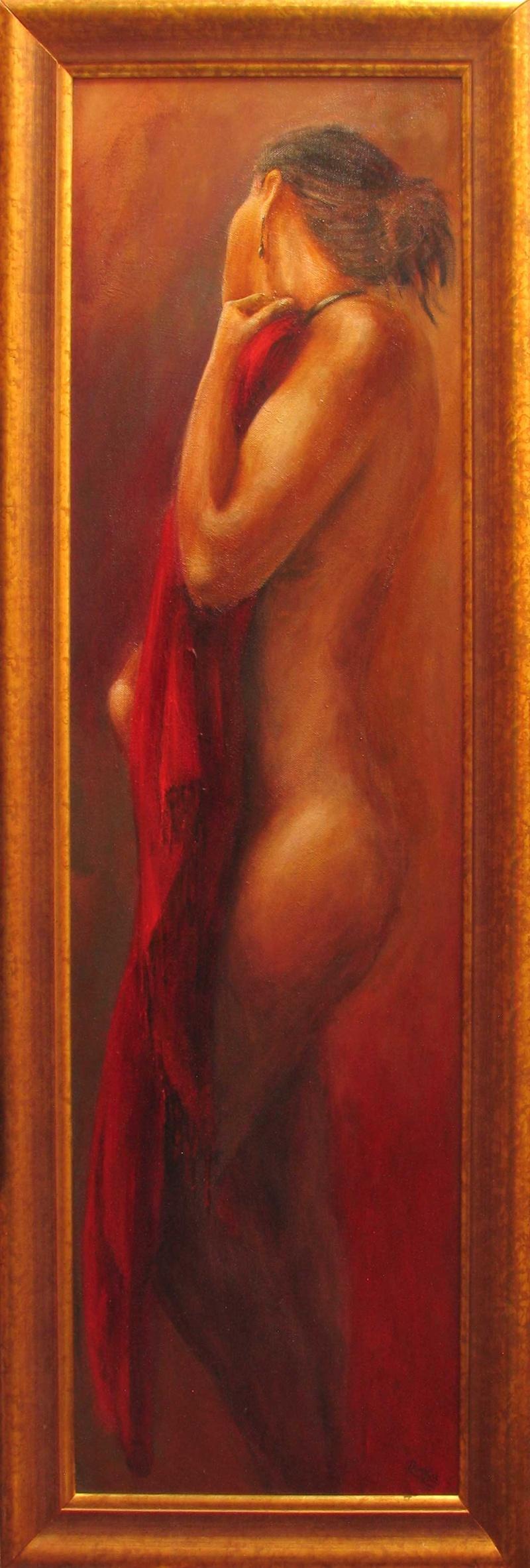 Kettering and Croydon Mar 24, 2009 Ricardo Insua-Cao Buoi Toi - Oil on Canvas