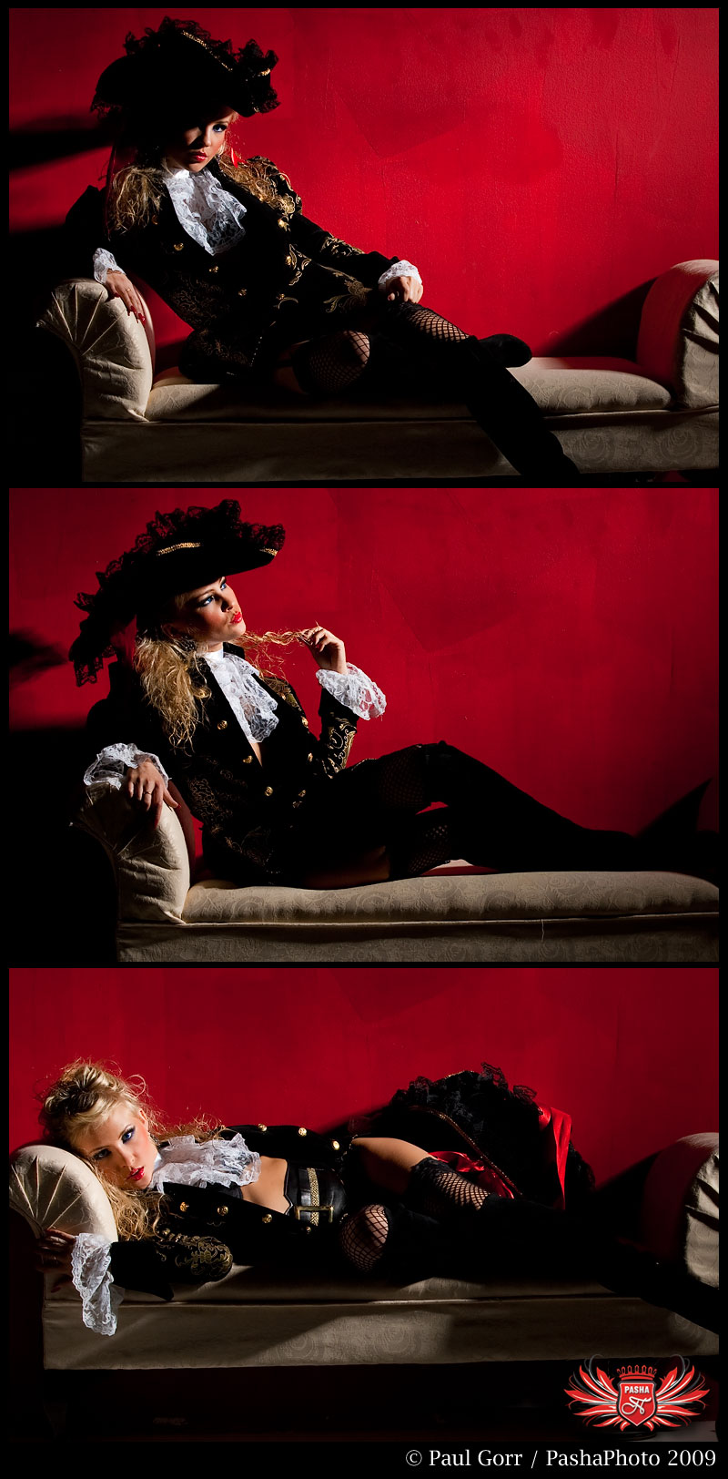 Studio 212 - Metuchen, NJ Mar 25, 2009 Paul Gorr - PashaPhoto 2009 Nastya - She wanted to be a pirate... who am i to say no :)