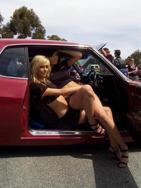 Female model photo shoot of Liena Rose in Powercruise 08