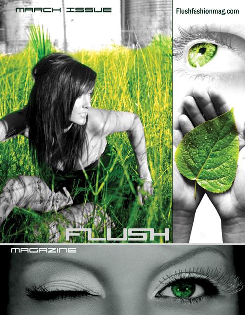 Tampa Mar 25, 2009 Flush Fashion Magazine Cover