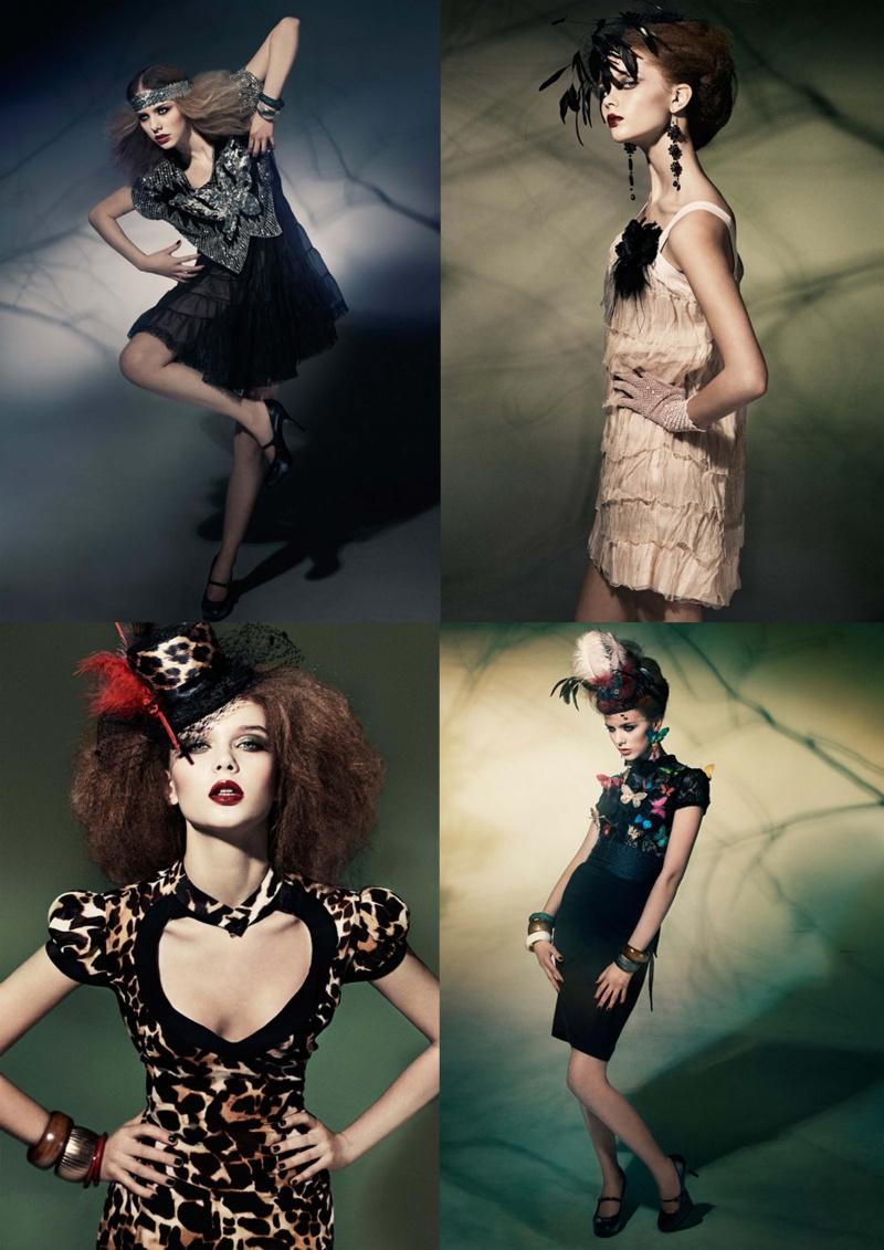 Mar 26, 2009 Nina Holma   mu: Elva, Hair: Hanse, Styling: Anna Hassan-Reza, models: Henrietta- Up Models and Amanda S - Elite, Sweden