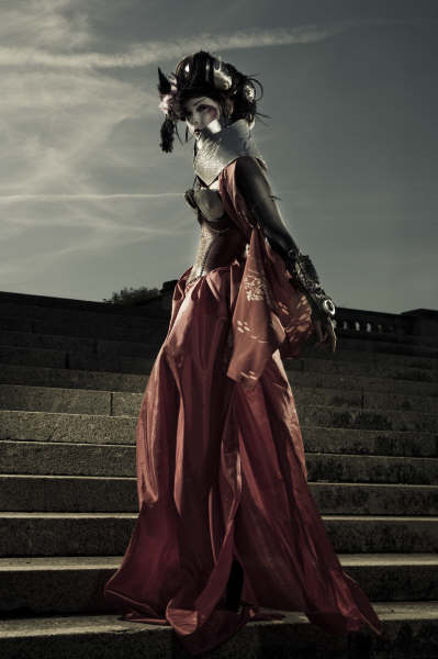 Mar 26, 2009 abandon photography Cyber Geisha-makeup hair and styling by me!